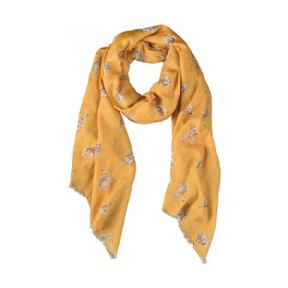 Wrendale Hare Scarf (Mustard)